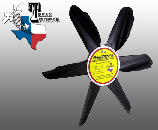 Texas Twister Fan Blades